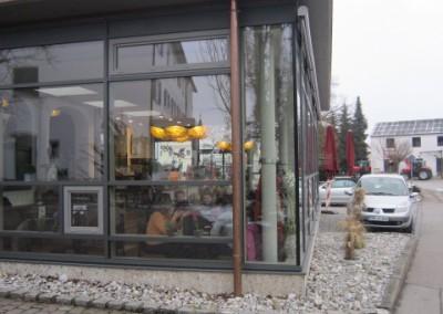 Pfosten-Riegel-Fassade mit Einsatzelement (2)