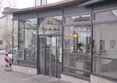 Pfosten-Riegel-Fassade mit Einsatzelement (3)