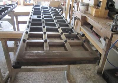 Repair-Care Wiederherstellung Unterstück Kirchentüre Fertigstellung mit Oberfläche