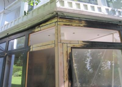 Repair-Care Wintergarten ausgebesserter Bereich (2)