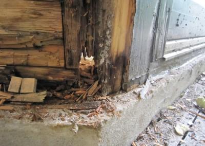 Repair-Care Wintergarten beschädigter Bereich