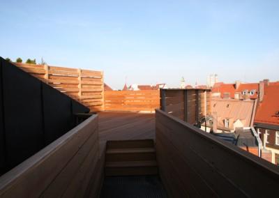 Treppenaufgang zur Terrasse